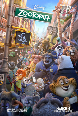 "Review for ""Zootopia"""